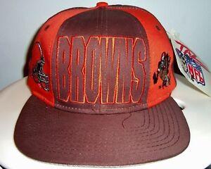 NEW VINTAGE 90 s TAZ DEVIL CLEVELAND BROWNS NFL A SNAPBACK HAT (GREY ... dde23d49a