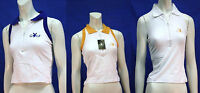 Ladies Playboy Golf Sleeveless Shirt Built In Sport Bra Bunny Logo Casual Fun