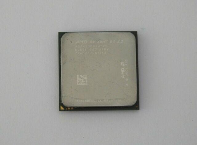 AMD Athlon 64 X2 4200+ 2,2 GHz (ADA4200DAA5CD) Prozessor S. 939 + Wärmeleitpaste