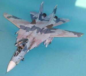 Usa f14 grumman f 14 tomcat fighter plane paper model do it yourself image is loading usa f14 grumman f 14 tomcat fighter plane solutioingenieria Images