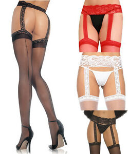 Congratulate, Red sheer suspender pantyhose