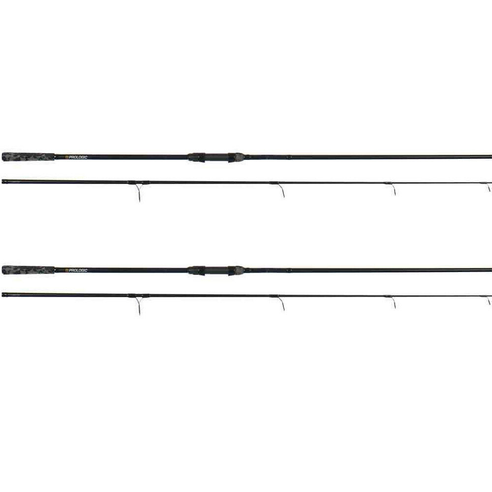 ProLogic 2x C1a Carpa Canna 12ft o 13ft 50mm NUOVA Canna Da Pesca  Tutti Prova Curve