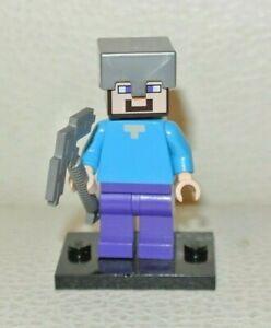 minifig LEGO Genuine Minecraft Steve Minifigurine Minifigure
