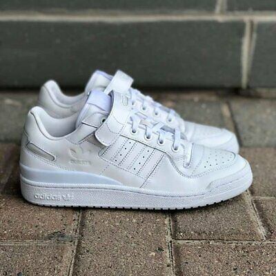 Adidas Originals Para Hombre Forum LO refinado Blanco Zapatillas Zapatos BA7276 Reino Unido 7 a 10.5 | eBay