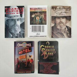 The Charlie Daniels Band - Cassette 5-Pack - Homesick Heroes - Super Hits - More