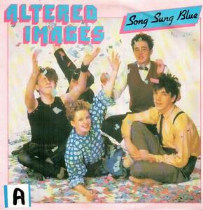 "7"" Single: Altered Images - Song Sung Blue - Münster, Deutschland - 7"" Single: Altered Images - Song Sung Blue - Münster, Deutschland"
