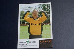 Werder Bremen: 8 Autogrammkarten Brasa Dabrowski Bogdanovic Eilts Burdenski Kamp - Deutschland - Werder Bremen: 8 Autogrammkarten Brasa Dabrowski Bogdanovic Eilts Burdenski Kamp - Deutschland