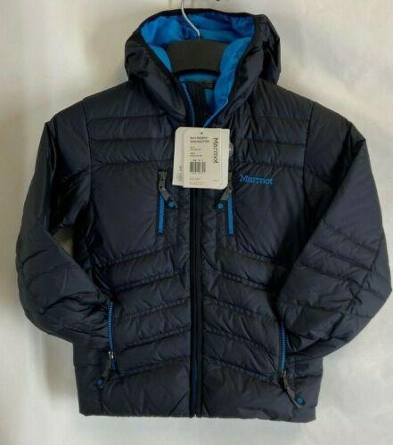 Marmot Boy/'s Hangtime Down Hoody  700 Fill Down Puffer Coat//Jacket Colors//Size