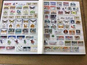 Huge German Deutschland Stamp Collection - 350 Mint, 8 Pages Of Commeratives.
