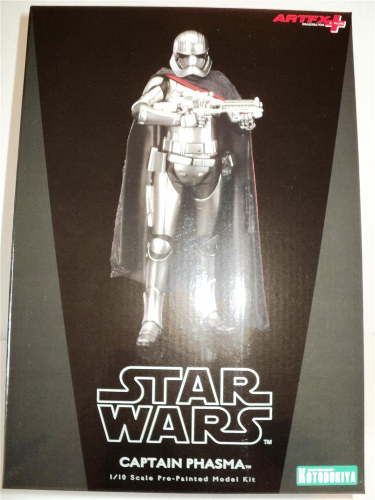 STAR WARS Captain Phasma - The Force Awakens Ver. ArtFx Statue Kotobukiya MISB
