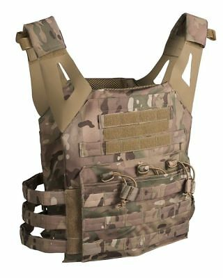 Mil-Tec Plate Carrier Weste Gen.II Multicam Paintball Paintballweste Airsoft