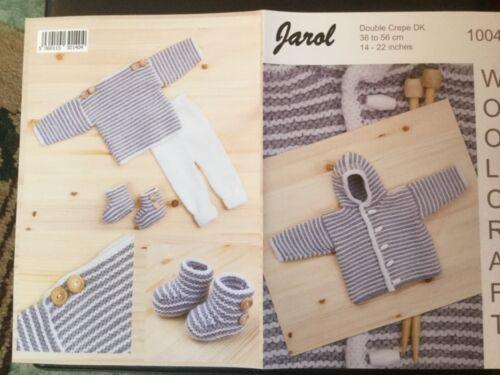 Jarol DK Tejer patrón 1004-Baby Set 14-22 INS