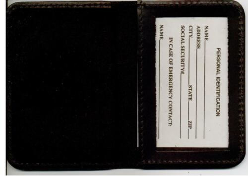 NYC Corrections Officer Family Member Mini Wallet 1-Inch Mini Not Included