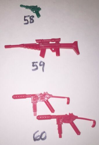 accessory//weapon//gun//backpack//missile vintage original replacement parts GI Joe