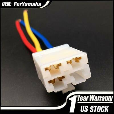 starter solenoid relay plug repair kit wire harness for