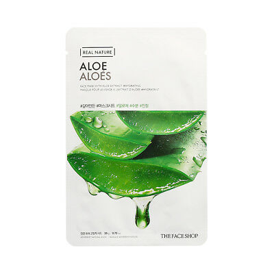 [THE FACE SHOP] Real Nature Face Mask - 3pcs