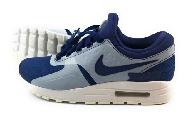 newest 6e17f f1c44 Nike Air Max Zero Essential GS Casual Kids Youth Womens Shoes Blue  881224-402 6.5