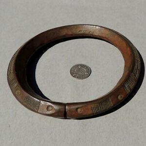 an-old-antique-copper-african-bracelet-dogon-mali-169