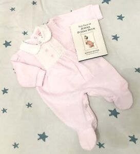 Traditional-Spanish-Style-Baby-Girls-Velour-Smocked-Babygrow-Pink