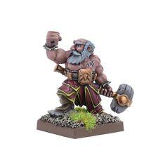 Kings of War Dwarf Stone Priest by Mantic KWD201 Brand New