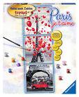 Ravensburger Malen nach Zahlen Paris je T´aime