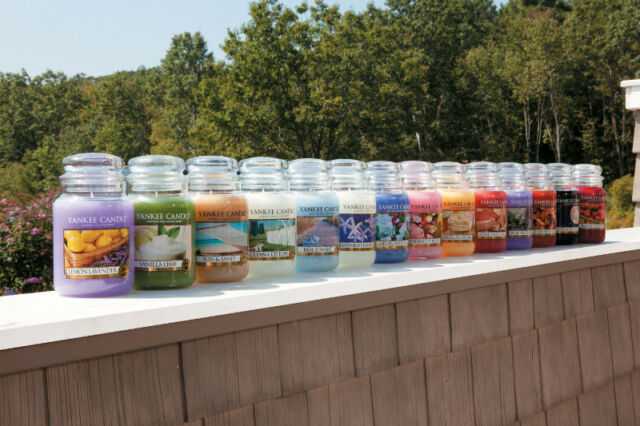 6 x Assorted Fragrances Official Yankee Candle Signature Classic Large Jars 623g