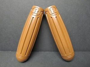Vintage Antique Bicycle Tricycle TORPEDO Handle Bar Grips 7//8  X 4 1//2 Long  b