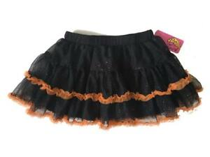 Clothing, Shoes & Accessories Girls' Clothing (newborn-5t) Twirl Evy Girl's Tutu Skirt Black Orange Size Halloween Dance Ballet 18mo 3t Nwt