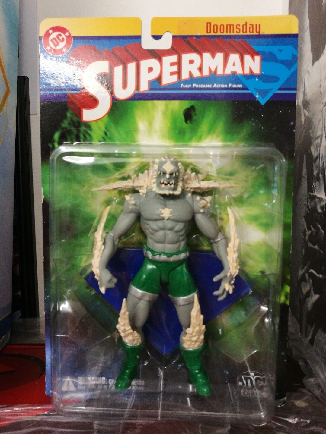 Rare DC Direct Doomsday - Superman Animated Universe Action Figure Comics