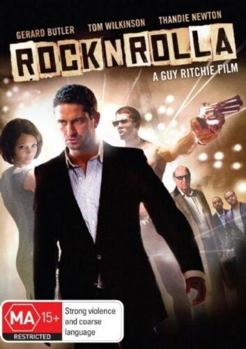 1 of 1 - RocknRolla (DVD, 2009) Region 4 Drama DVD Rated MA Used in Very Good Condition