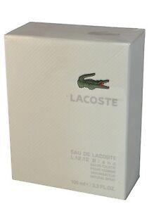 Lacoste-Eau-de-Lacoste-L12-12-Blanc-for-Men-3-3-oz-Eau-de-Toilette-Spray-NIB