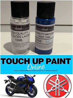 Yamaha Touch Up Brush Paint Competition White BWC1 2 Bottle System