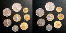 Pre-Euro 8 Coin Set France 5th Republic