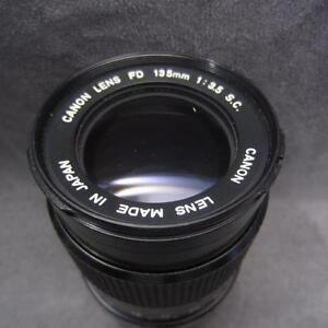 Canon-FD-135mm-3-5-S-C-fuer-A-1-AE-1-F1-T90-usw-Objektiv-lens
