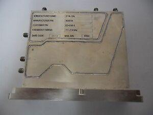 Details about Ceragon Eyal Gal Microwave ED-0193-3 RF Transceiver  7 1-7 9GHz SMA Ham-Radio