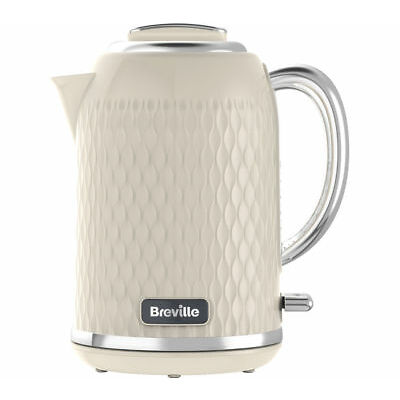 BREVILLE Curve VKT019 Jug Kettle - Cream - Currys
