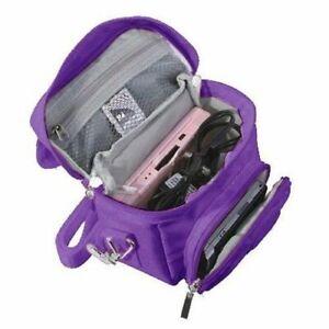Purple-Nintendo-DS-Lite-DSi-DSi-XL-3DS-3DS-XL-Travel-Bag-Carry-Case