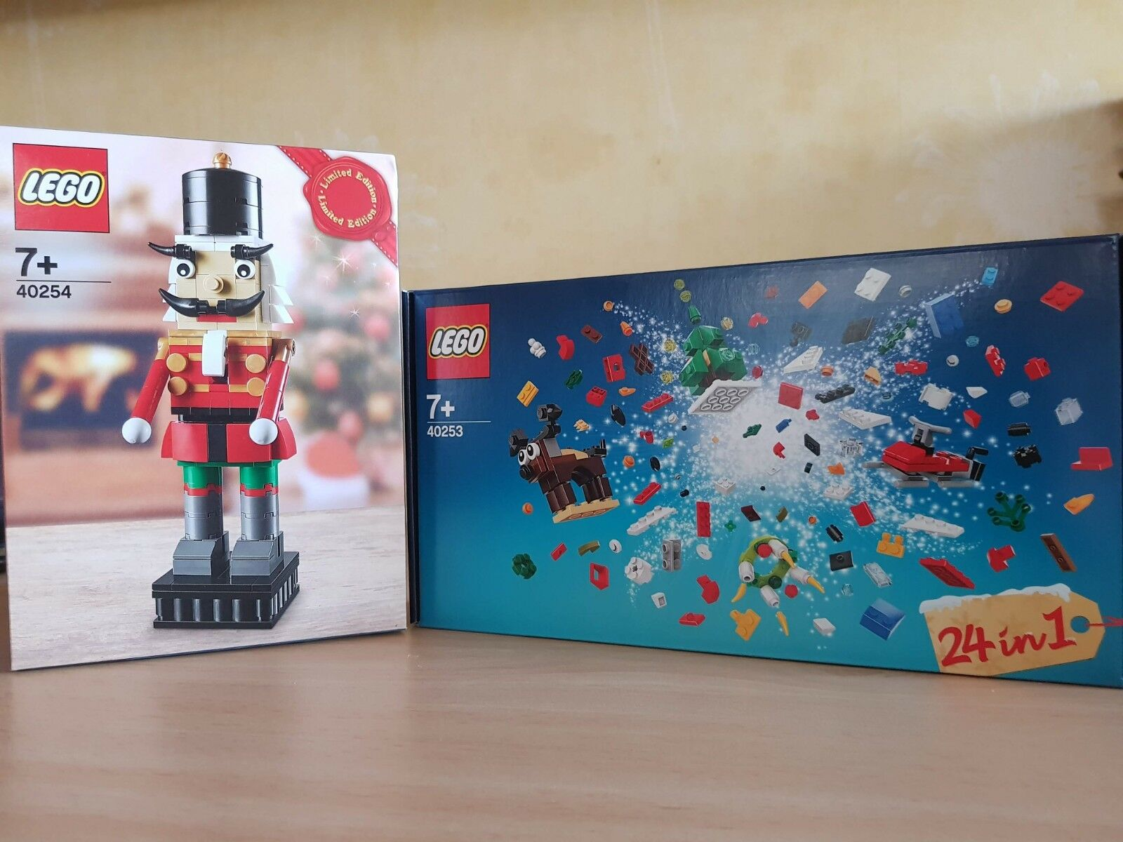 Lego 40253 & 40254 24-in-1 Christmas Build Up & Nutcracker Bundle BNIB