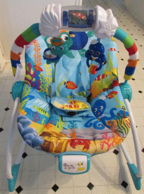 15f37a6d7d20 Baby Einstein Ocean Adventure Rocker Chair Seat for sale online