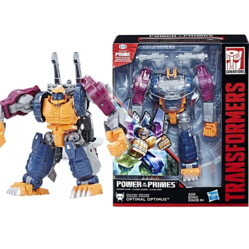 Transformers Power of the Primes POTP Leader Evolution Optimal Optimus Gift Toy
