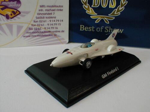 """Best of Show 87280-gm Firebird I año de fabricación 1953 en /""""blanco metalizado/"""" 1:87 nuevo"""
