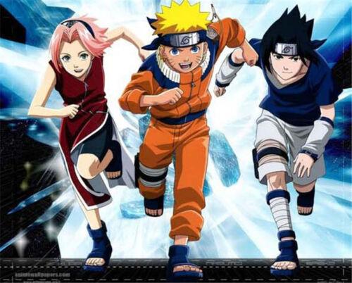 Naruto Shippuden Hidden Leaf Village Black Ninja Cosplay Props Headband New