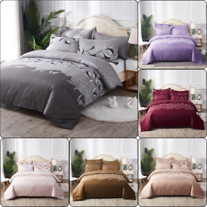 Lace-Embroidered-Bedding-Sets-Bed-Duvet-Cover-Bed-Sheet-Pillowcase-US-EU-AU-Size