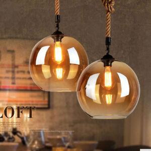 Vintage-Industrial-Retro-Loft-Glass-Bar-Lamp-Shade-Pendant-Ceiling-Light
