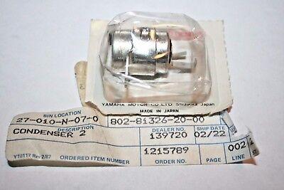 Ignition Condenser Snowmobile Yamaha 207 81326 10 Single Cylinder 207-81326-10