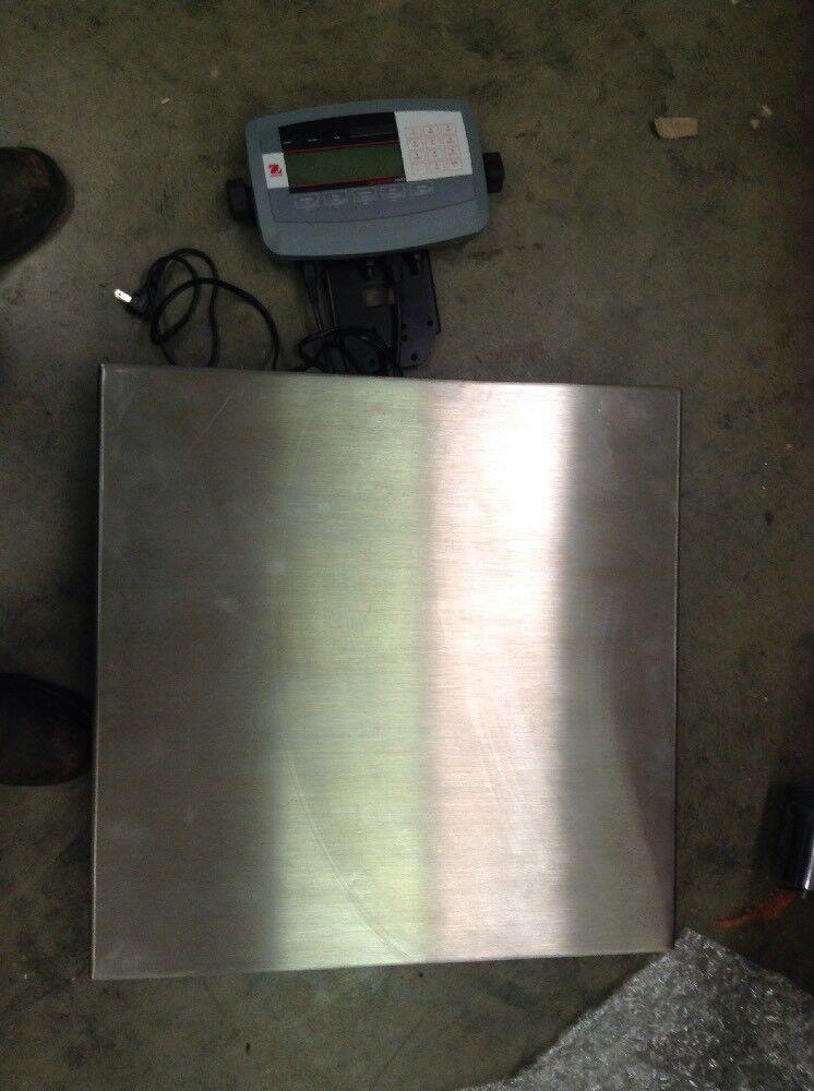 OHAUS D32XW60VR Digital Bench Scale,SS Pltfrm,150 lb Cap