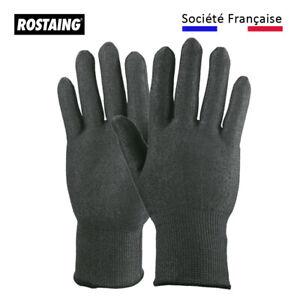 Handschuhe Anti Trennschleifer Rostaing Blacktactil Groß Motorikspielzeug * 8/M