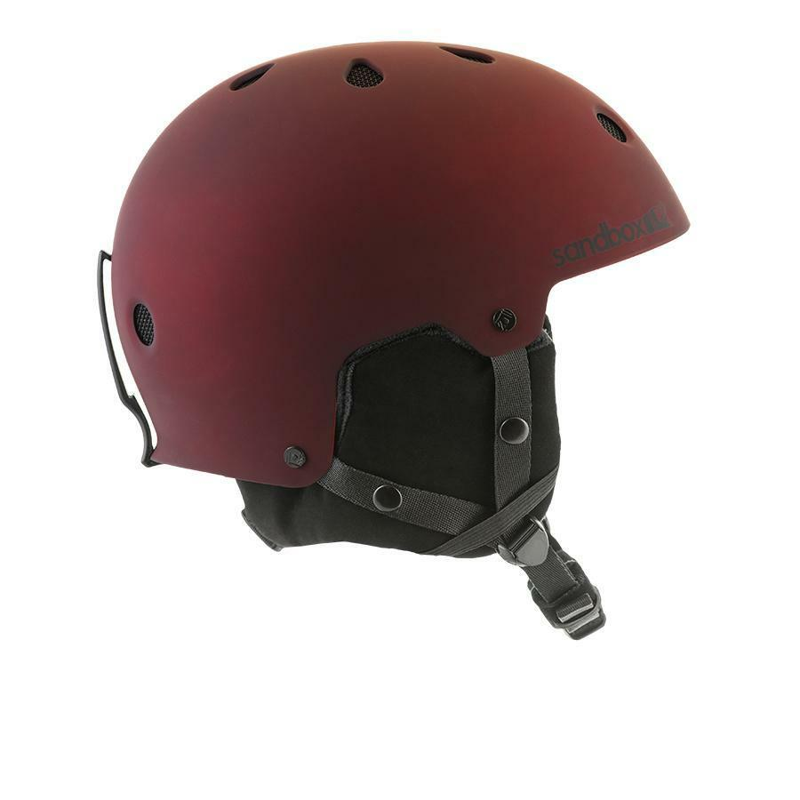 BRAND NEW Sandbox LEGEND APEX Snowboard Ski Helmet MATTE BORDEAUX MEDIUM LARGE