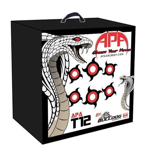 NEW Bulldog APA T12 24 x 24  x 12  Archery Target w  Lifetime Warranty