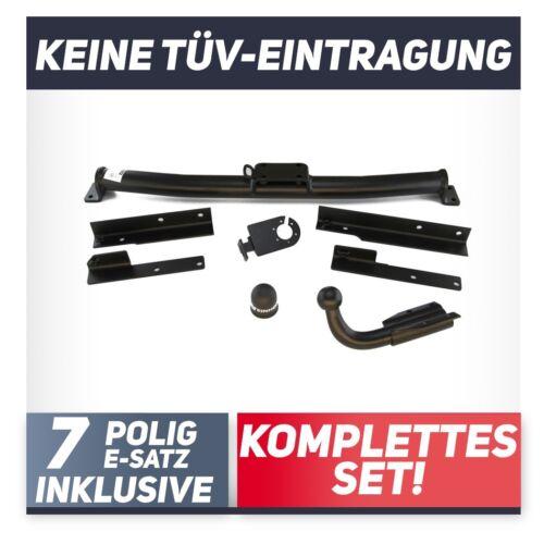 Für Mercedes-Benz W202 Limousine C-Klasse 93-00 Anhängerkupplung starr+E-Satz 7p